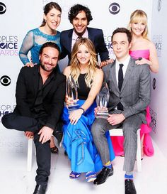 The Big Bang theory cast (minus simon)