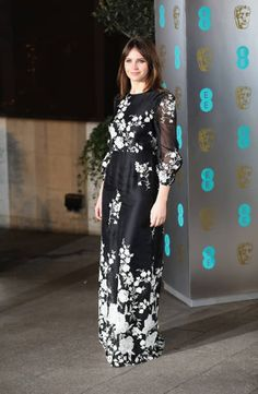 Felicity Jones attends the official after party for the 70th EE British Academy Film Awards at The Grosvenor House Hotel on February 12 2017 in...