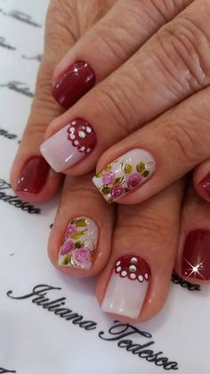 Fragrance, Nail Art, Nails, Beauty, Hairstyles, Pretty Nails, Flower, Best Nails, Nail Designs