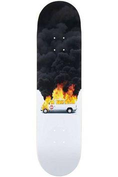 Plunkett Tour From Hell Skateboard Deck by Skate Mental