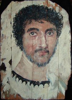 Ancient Romans, Ancient Art, Ancient Egypt, Ancient Greece, Egyptian Mummies, Roman History, Roman Art, Bear Art, Encaustic Painting