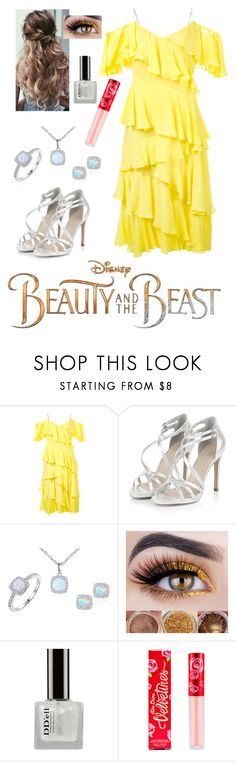 """""""Disney's 'Beauty and the Beast'"""" by miriam-witte ❤ liked on Polyvore featuring Disney, Anna October, Sevil Designs and Lime Crime"""