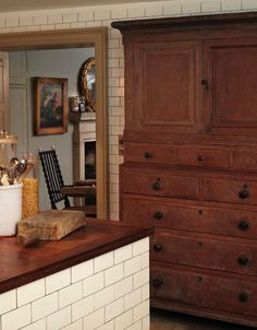 Kitchen cupboard   London Antiques dealer Will Fisher