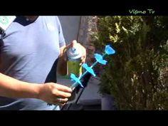 VisMoTV Hecho Artesanía Flores de PET 2 - YouTube