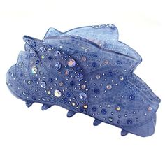 Girls Hair Clips Barrettes Hair Styling Claw Clip Hair Accessories, Light Blue ** You can get additional details at the image link.