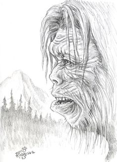 Coloring Page Mitchdraws 283693 Bigfoot Coloring Pages