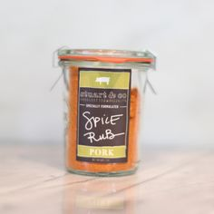 Pork Rub | $9. A great complement to pork: orange, rosemary, cumin, coriander and a little brown sugar. Available at: manykitchens.com