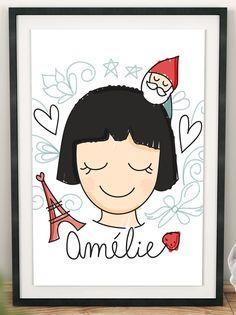 Poster Amélie – Carinhas