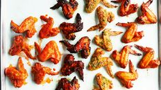 Whether you like them spicy or sweet and sticky, these four recipes from Martha Stewart are guaranteed to be a hit at your next party.
