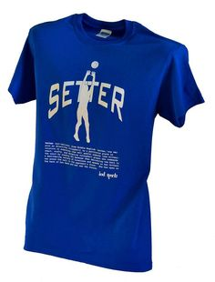 Setter Volleyball Position Tshirt by BADSportz1 on Etsy, $15.00