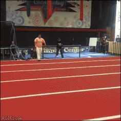 """He's just happy to be there. """"Good boy! Next obstacle!"""" [video]"""
