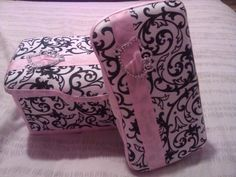 Made to Order Covered Wipe Case Sets. $22.00, via Etsy.
