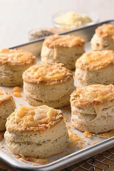 Bakewell Cream Biscuits Recipe
