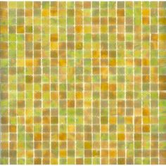 Elida Ceramica�Glass Mosaic Onyx Dune Glass Mosaic Square Wall Tile (Common: 13-in x 13-in; Actual: 12.75-in x 12.75-in)