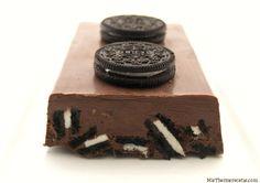 Turrón de chocolate con galletas Oreo - MisThermorecetas
