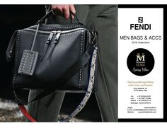 FENDI SS16 MEN BAGS ACCESSORIES available for an order at Myriam Volterra Luxury Buying Office! Contact us by phone, email, Skype or visit our office in Milan and we provide you with all the necessary information!  http://www.luxuryitalianbrands.com
