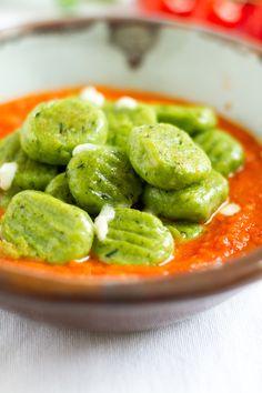 haseimglueck.de Rezept, Basilikum-Gnocchi-mit-Tomaten-Mozarella-Sauce 5