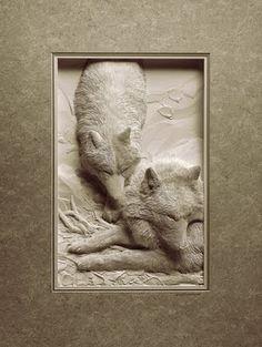 Amazing paper sculptures by Calvin Nicholls