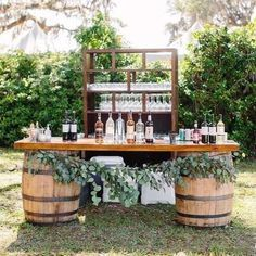 Great No Costs 18 Perfect Wedding Drink Bar And Station Ideas For Weddings . - Great No Costs 18 Perfect Wedding Drink Bar And Station Ideas For Fall Weddings Tips An easy way to - Fall Wedding Drinks, Summer Wedding Decorations, Wedding Tips, Wedding Hacks, Wedding Ceremony, Wedding Centerpieces, Bar Wedding Ideas, Wedding Planning, Drink Station Wedding