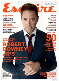 Robert Downey Jr. for Esquire UK, November 2014