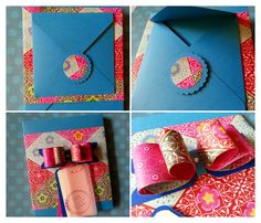 Merci-Verpackung mit dem Envelope Punch Board