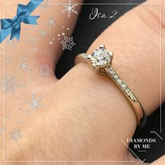 Isa 2 is volgezet met diamanten en is perfect als verlovingsring! #diamonds #engagementring #whitegold #diamondsbyme Perfect Image, Precious Metals, Jewels, Gemstones, Bracelets, Rings, Seeds, Bijoux, Gems