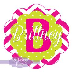 Monogram Pink Chevron PRINTABLE Digital Iron-On Transfer Design - Personalized -  DIY - Do It Yourself Chevron Printable, Monogram Towels, Iron On Transfer, Printables, Digital, Unique Jewelry, Handmade Gifts, Pink, Baby