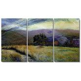 Found it at Wayfair - Sonoma Meadow Gallery Wrapped by Zhee Singer 3 Piece Painting Print on Canvas