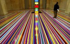 Tape Art on Floors - 02