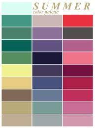 summer colour palette - Google Search