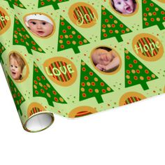 Custom Photo Christmas Wrapping Paper