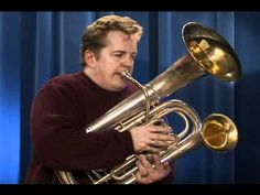 Listen to this double bell euphonium. It has five valves and the fifth valve changes the air to go through the smaller bell resulting in a brassier sound similar to a trombone.