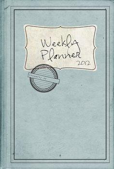 Printables for homemade planner