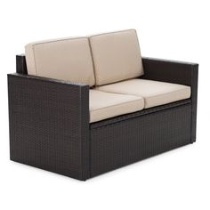 Coral Coast Berea Outdoor Wicker Storage Loveseat: Right Size, Great  Design, Poor Reviews