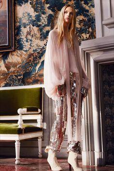 Sfilata Chloé Parigi - Collezioni Autunno Inverno 2016-17 - Vogue