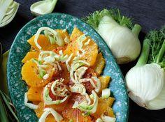 Insalata di arance, finocchio e peperoncino