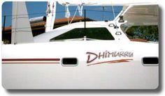 Multihull Boat Names - Dimhiru - by Boat Names Australia