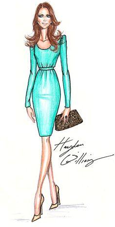 duchess kate . hayden williams illustration . haydenwilliamsillustrations.tumblr.com