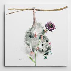 Wexford Home 'Garden Critter Possum' Wall Art