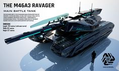 M46A3 Ravager Main Battle Tank (FULL HD) by Duskie360.deviantart.com on @DeviantArt