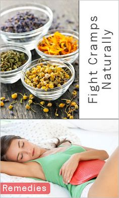 Fight Menstrual Cramps With Oils, Herbal Teas & More. This is so helpful!