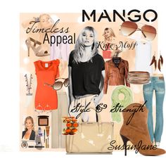 CONTEST ENTRY: Fashion in Motion with MANGO & Kate Moss, created by susan-lawrence-garcia