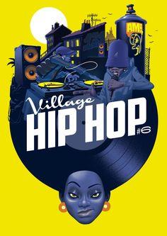 JULIEN LOÏS Visual, Inspiration, Movie Posters, Illustration, Doodles, Retro, Art, Music Art, Hip Hop