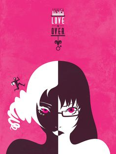 Love is Over Catherine Atlus Video Games Art Print by jefflangevin, $12.00 #catherine #gaming #videogames