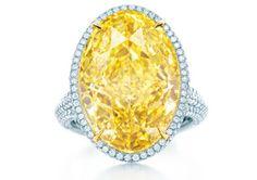 O diamante amarelo da Tiffany &Co