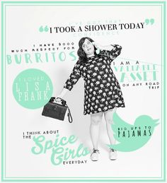 AIDY girl Aidy Bryant, Person Of Interest, Body Confidence, Take A Shower, Lil Baby, The Dreamers, I Laughed, Road Trip, Lisa Frank