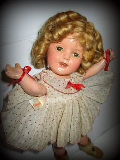 Vintage Ideal 1930's Shirley Temple by suburbantreasure on Etsy