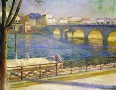 The Seine at Saint-Cloud 1890