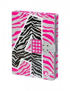 Your little girl has secrets to keep, and the Zebra Initial Push Code Journal ($17, originally $36) lets her do so in a stylish way! The journal comes with a push-code lock, so nosy little siblings can't find their way into it!