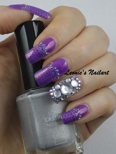 Day 27 Silver Holiday Challenge - Leonie's Nailart